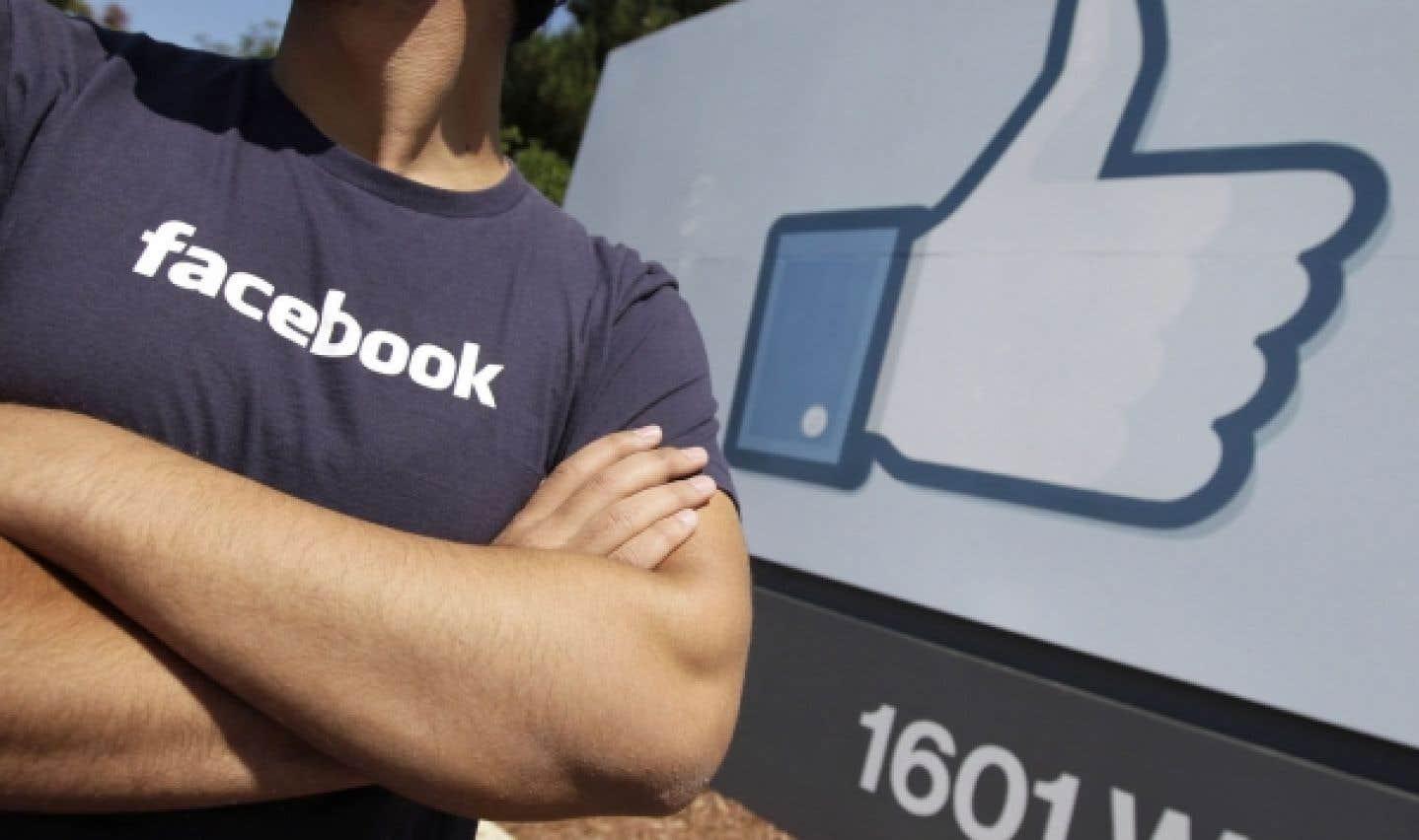 Facebook et l'intimité - La manne du contenu commandité