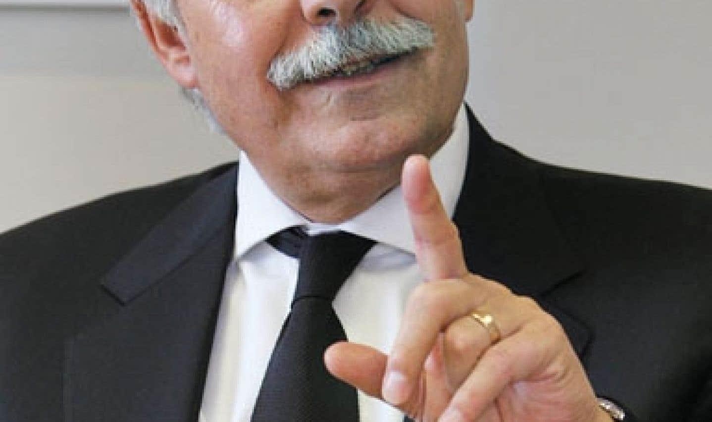 Alain Bideau, délégué général du Centre Jacques Cartier