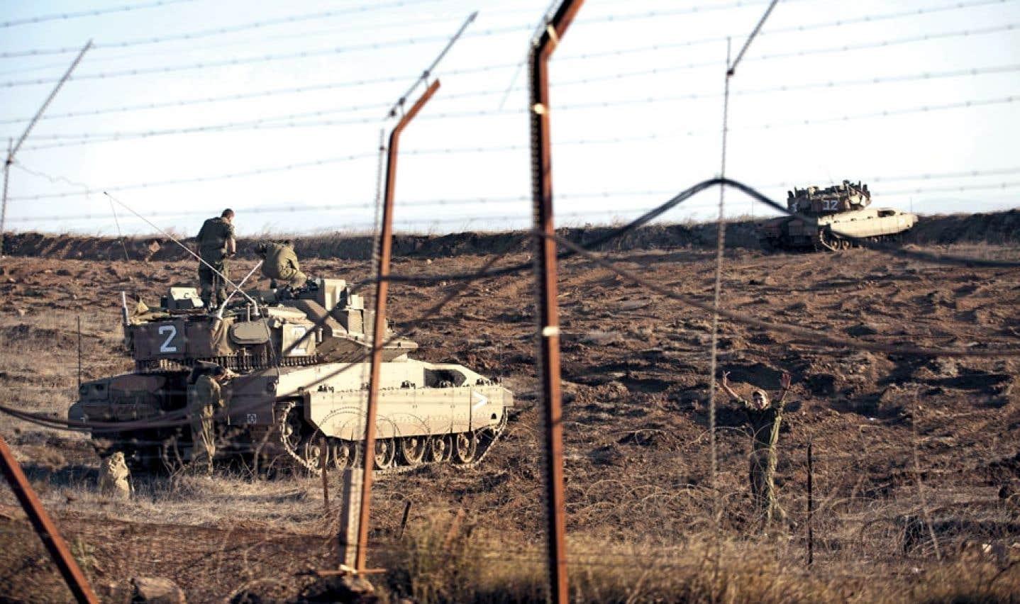 Israël veut construire une clôture le long de la frontière avec la Syrie
