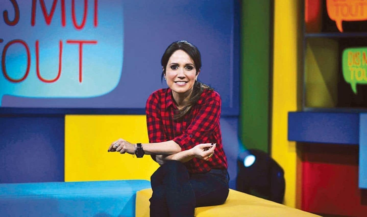L'animatrice France Beaudoin agira comme médiatrice et encadrera des élèves du primaire dans l'émission Dis-moi tout.