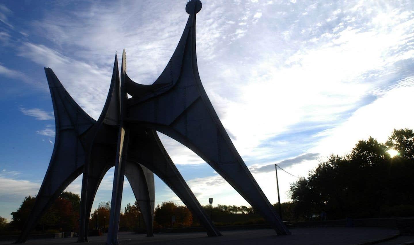 Art public - Projet Montréal s'oppose au déménagement de L'homme de Calder