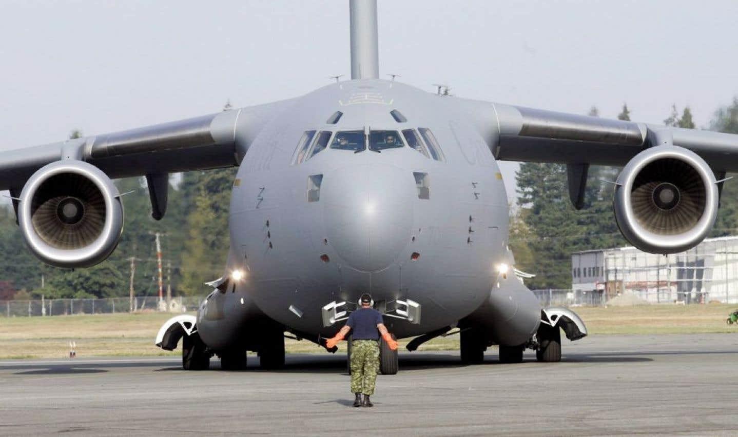 Le C-17 au Mali trois semaines de plus