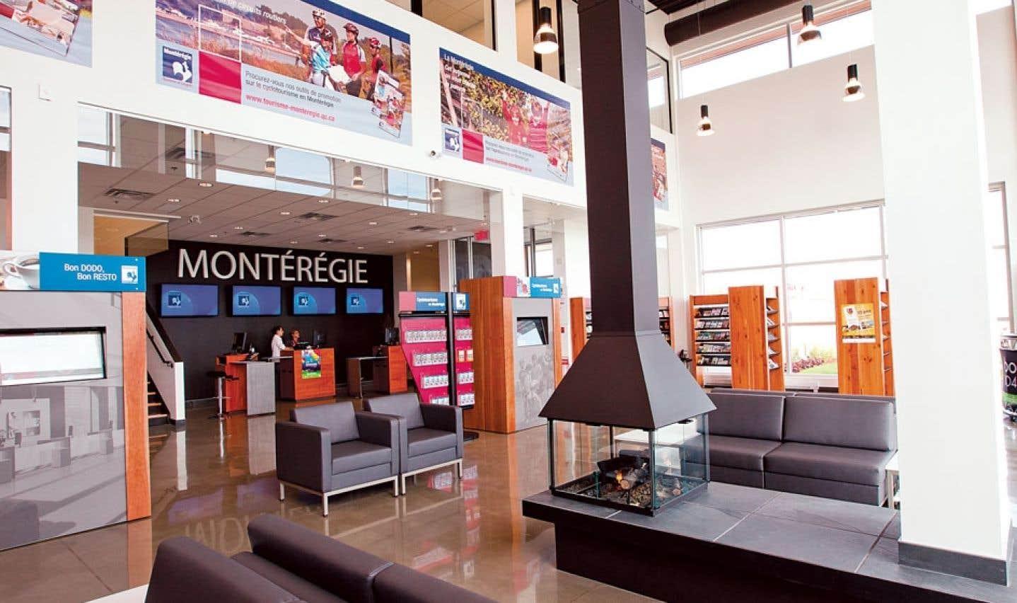 La Maison du tourisme de la Montérégie a été primée l'an dernier à Las Vegas.