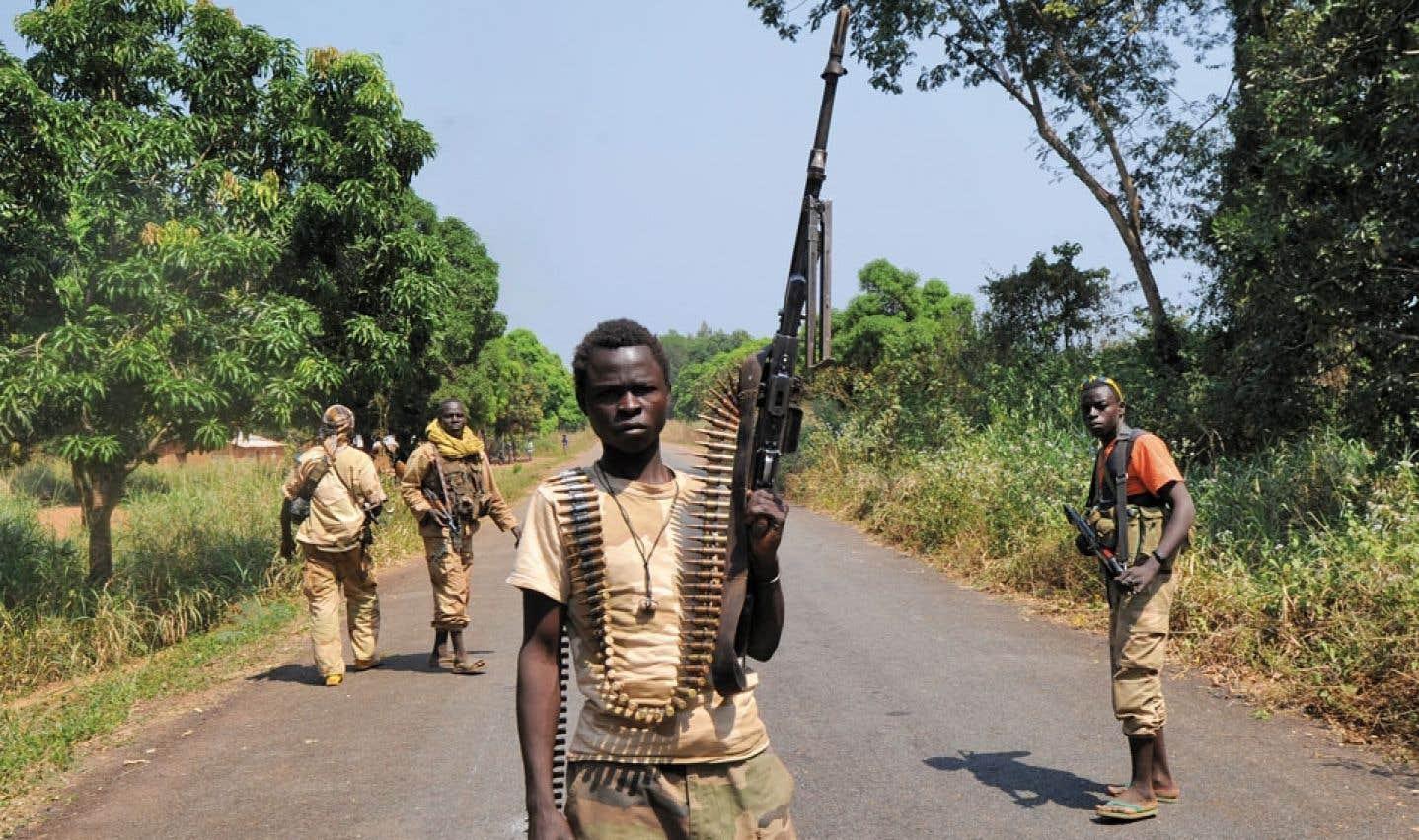 Un rebelle se proclame président de la République centrafricaine