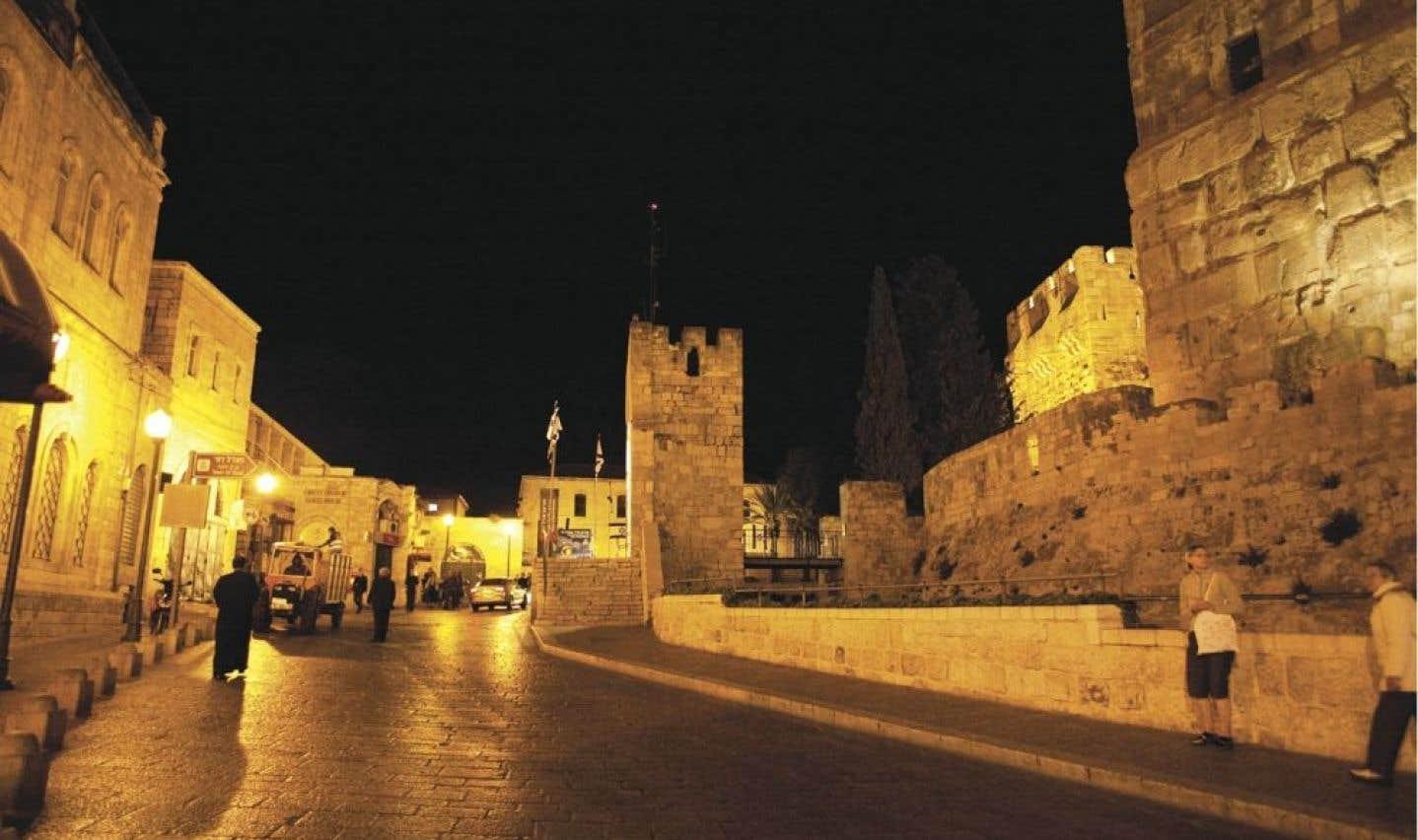 L'entrée de la ville par la porte de Jaffa