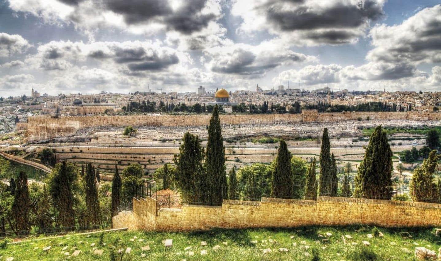 Jérusalem vue du Mont des Oliviers