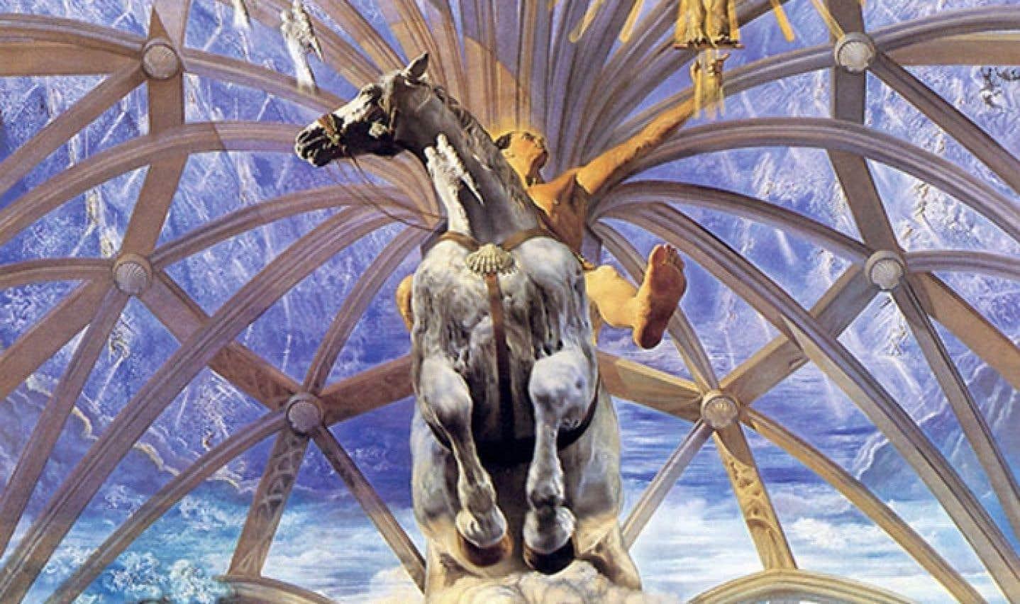 Une partie de Santiago el Grande, une œuvre de Salvador Dalí