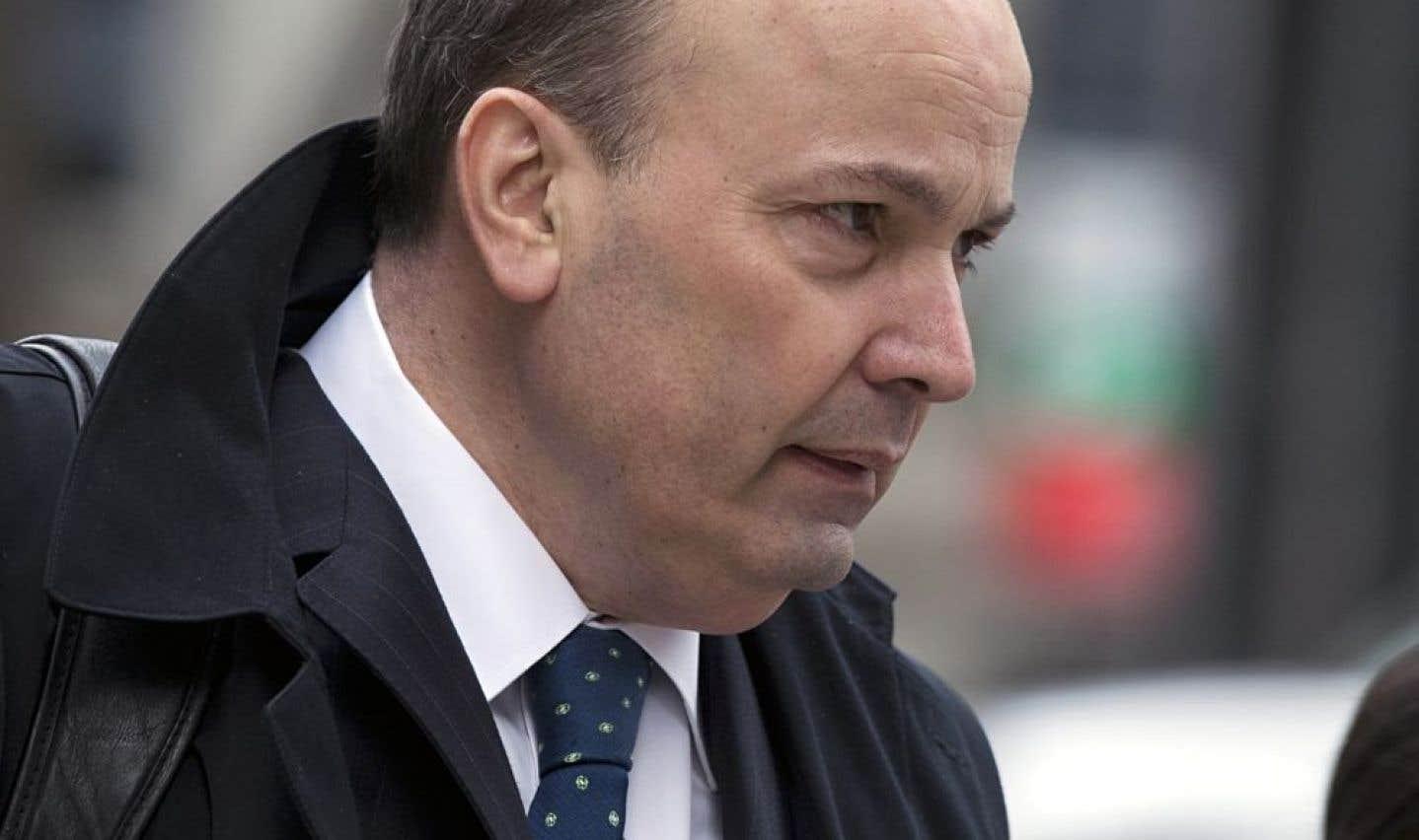 Commission Charbonneau: Zampino n'a «jamais» entendu parler de collusion à Montréal