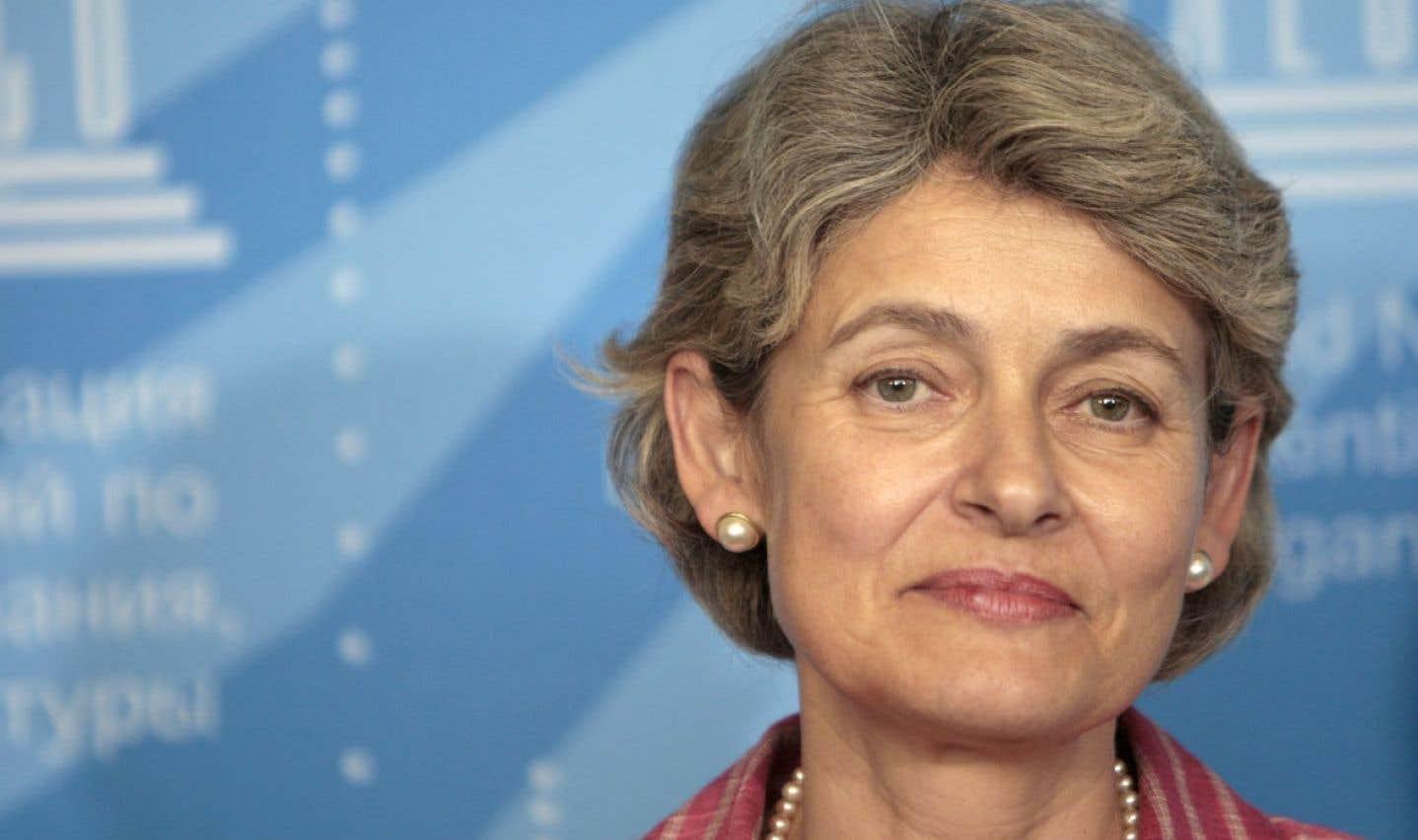 Irina Bokova est directrice générale de l'UNESCO depuis novembre 2009.