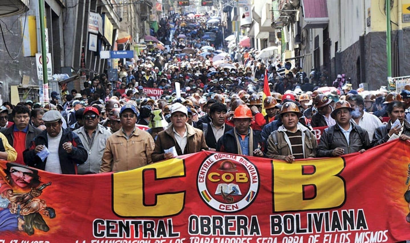 Grève générale peu suivie en Bolivie | Le Devoir