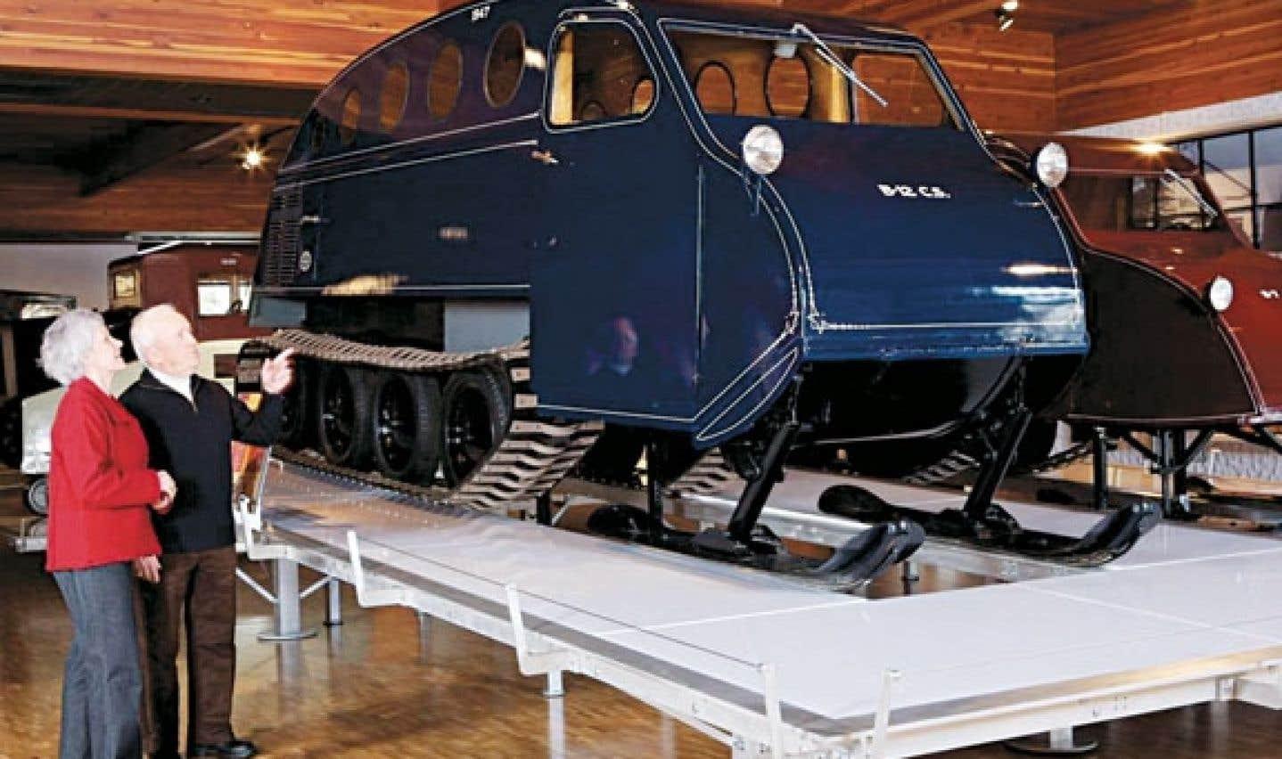Depuis son inauguration en 1971, le Musée J.-Armand-Bombardier retrace l'évolution de l'industrie de la motoneige.