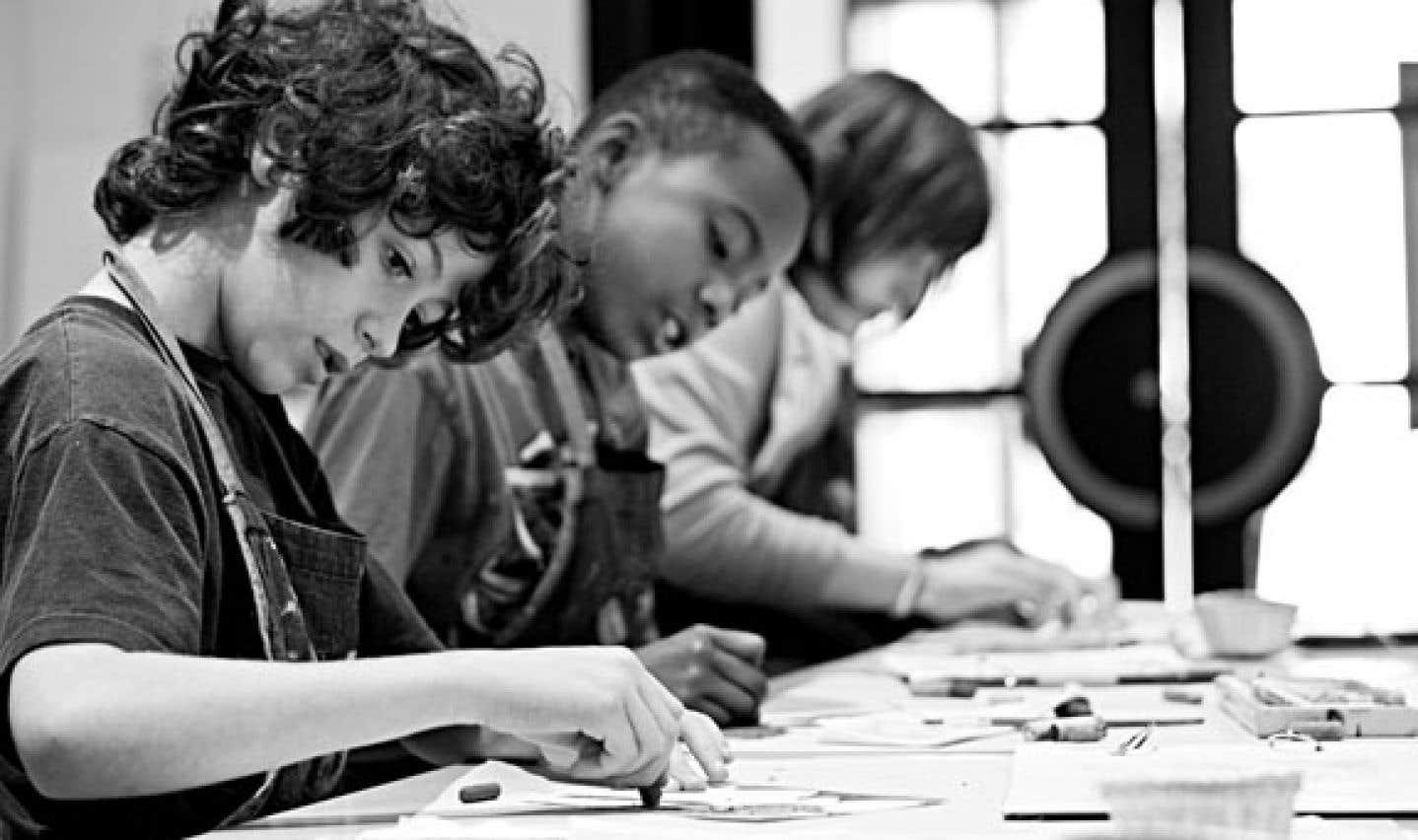 Les Studios art et éducation rénovés du MBAM devraient permettre à l'établissement d'accueillir 100000 écoliers d'ici 2017.