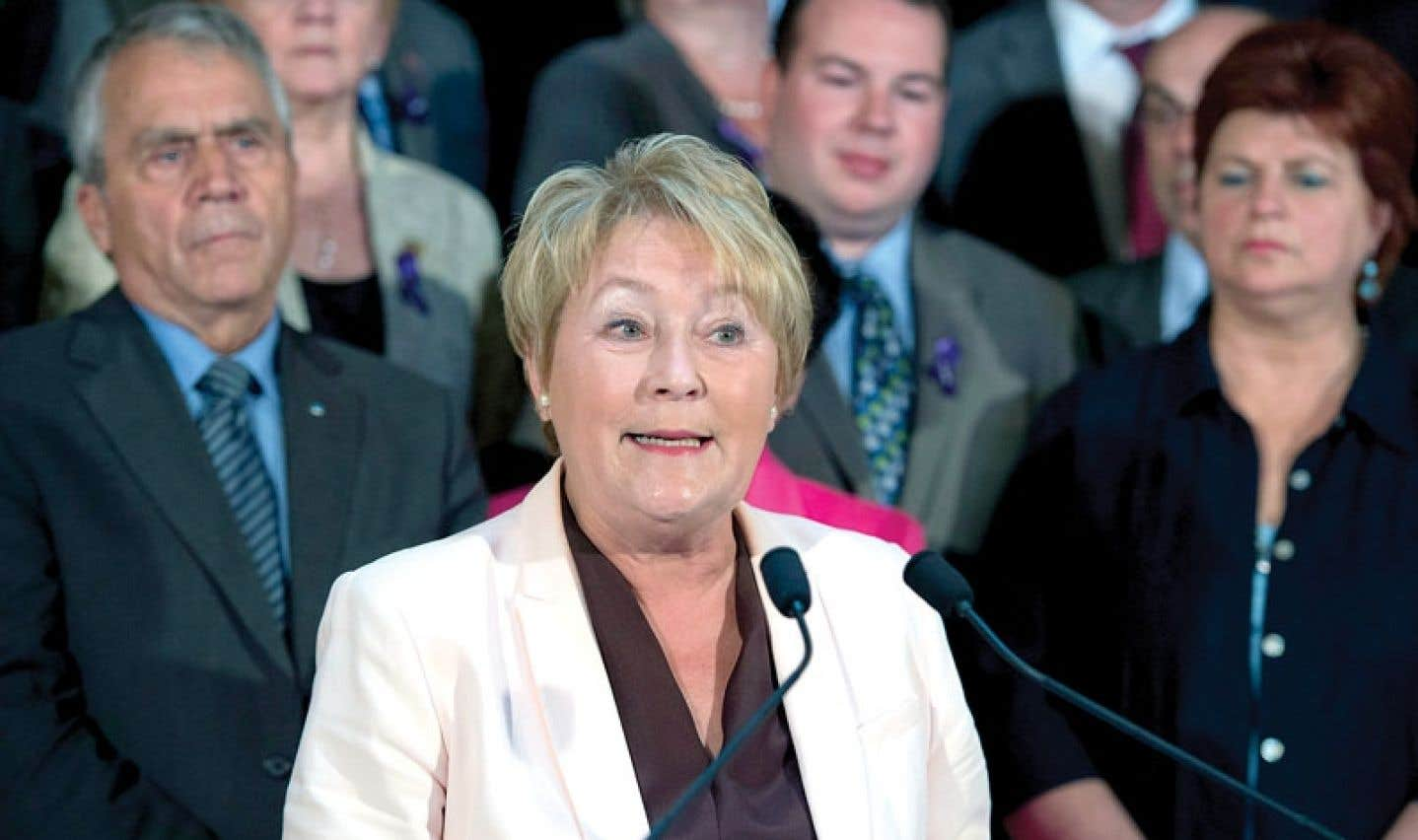 Bilan de session parlementaire - Marois s'avoue coupable de précipitation