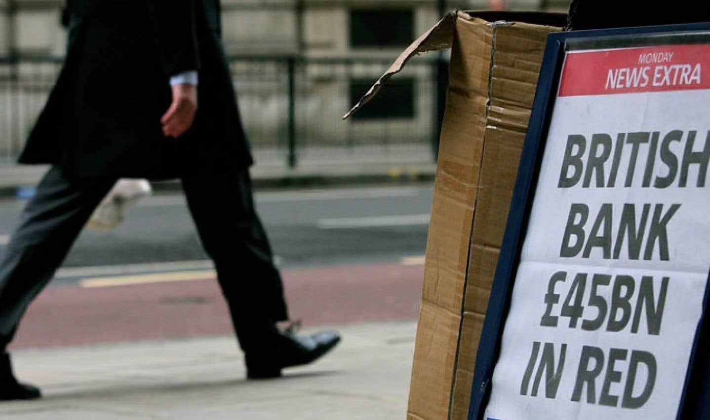 La City de Londres, haut lieu des banquiers les mieux payés de l'Europe