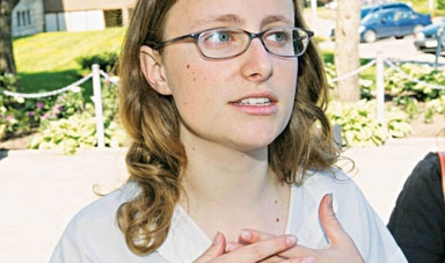 Éliane Laberge, présidente de la FECQ