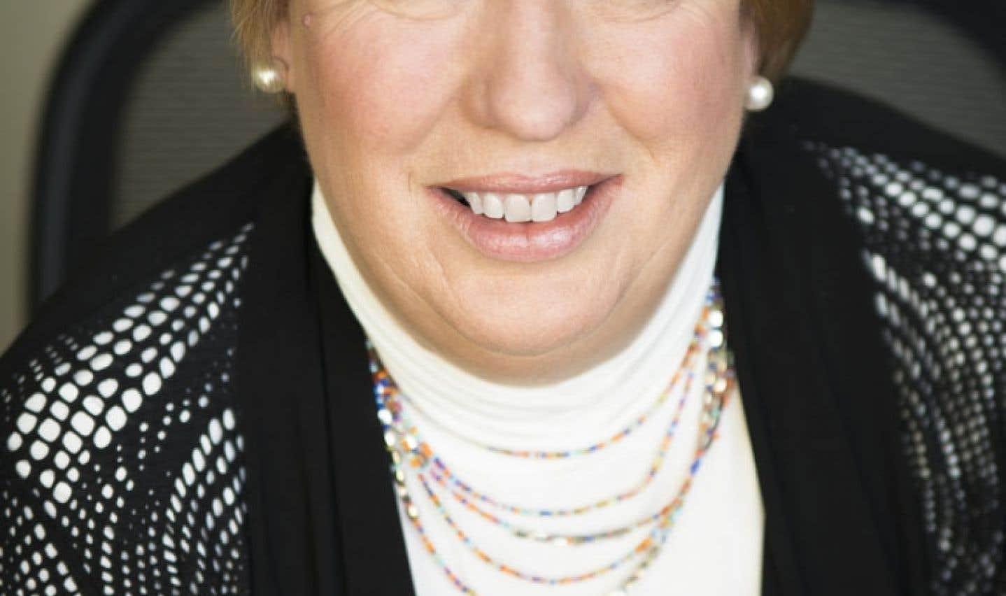 Diane Mockle, présidente de la Fondation pour l'alphabétisation, veut sensibiliser les auteurs aux besoins des faibles lecteurs.