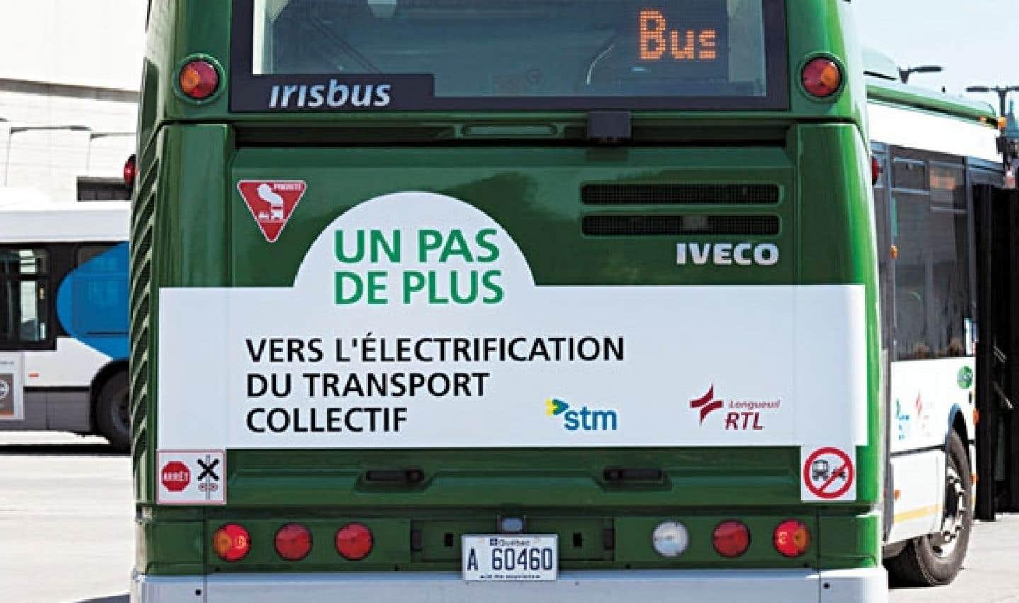 On verra prochainement arriver une flotte de 500 autobus hybrides.