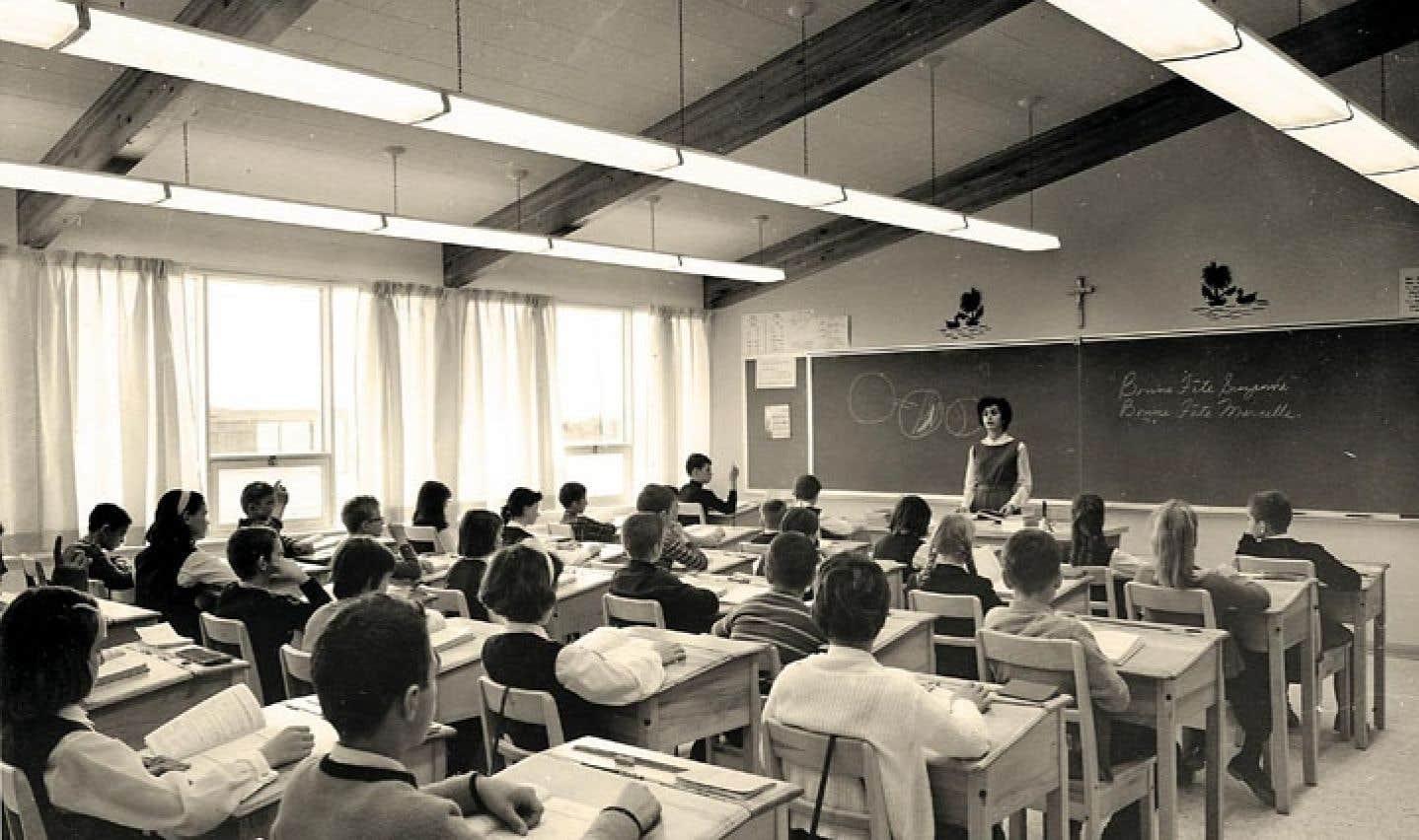 Dans les années 60, moins d'un Québécois sur deux terminait la 7e année.