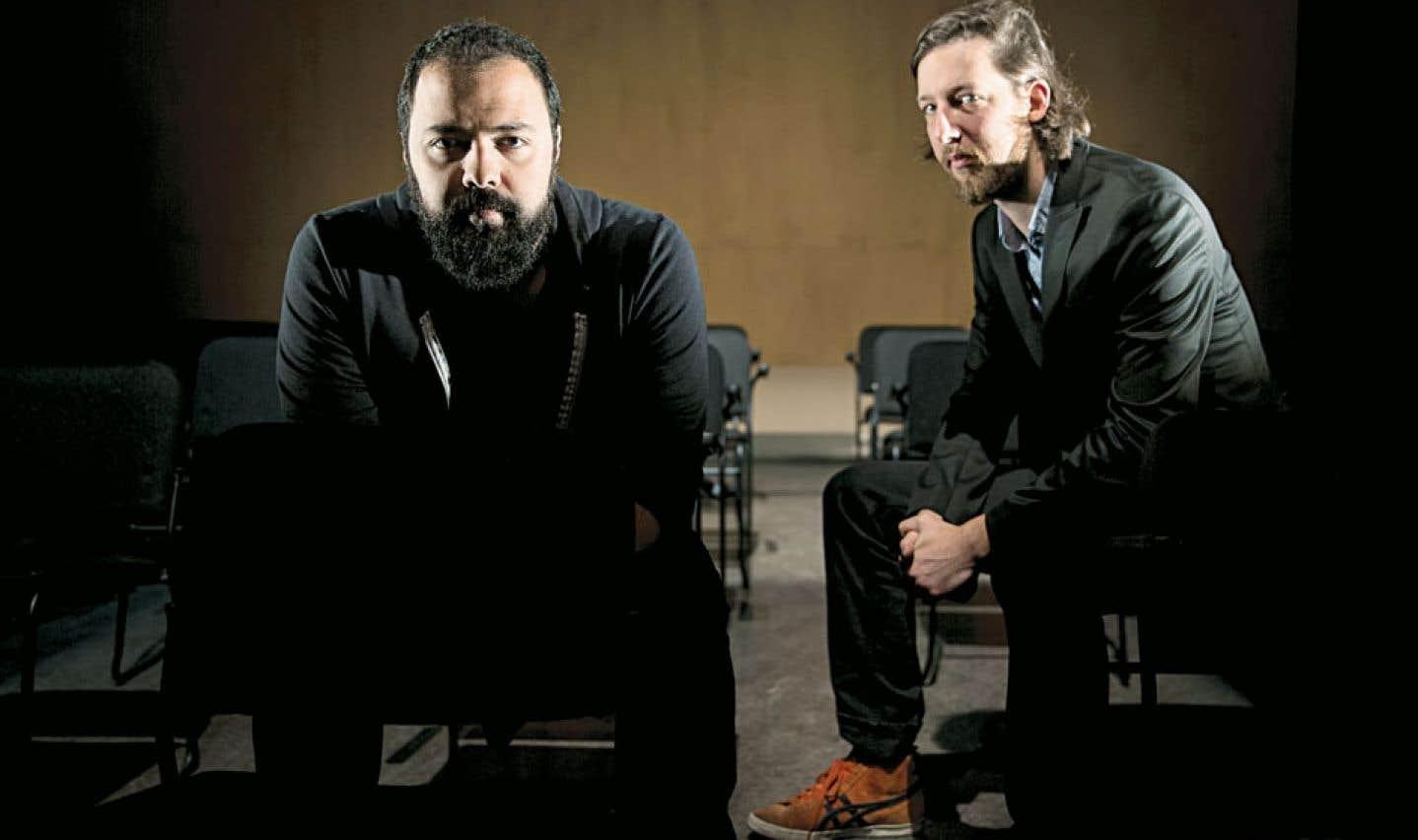 Mani Soleymanlou et Emmanuel Schwartz explorent leurs identités composites avec Deux.