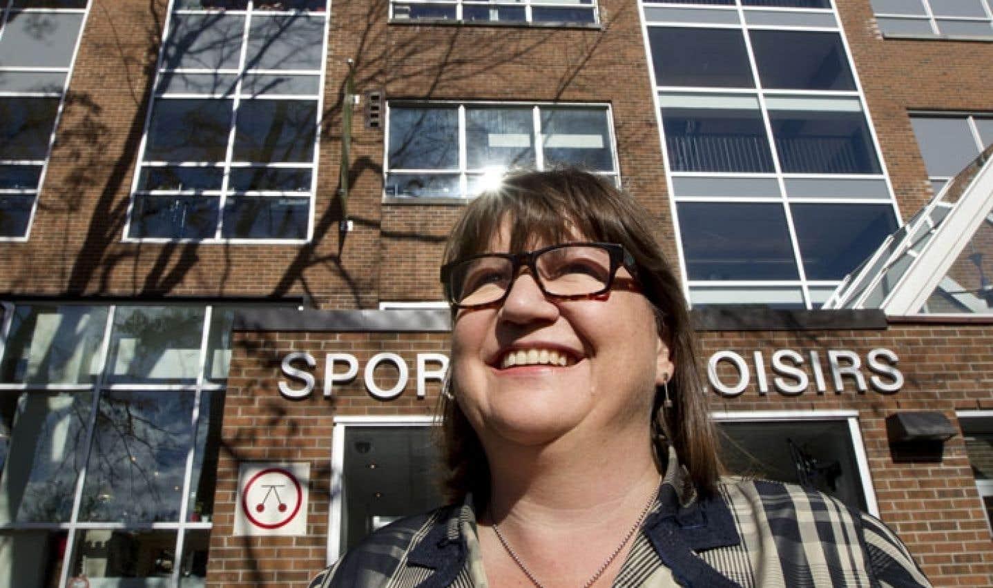 Marie Desroches, directrice générale des Œuvres du Père-Sablon, a à cœur d'aider les jeunes à se réaliser par le biais du sport et de trouver des mécènes pour que cette ambition devienne réalité.