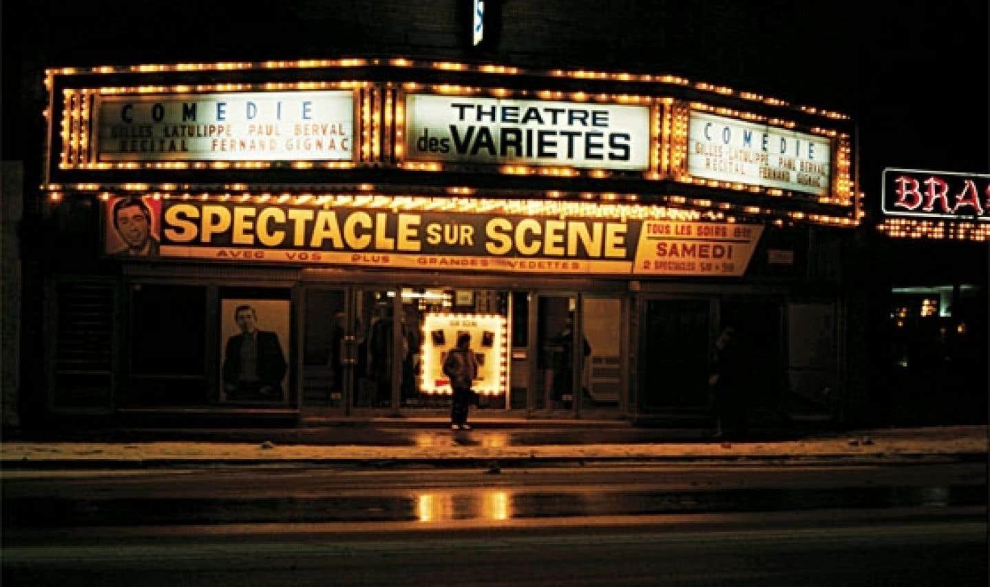 Le Théâtre des Variétés, rue Papineau
