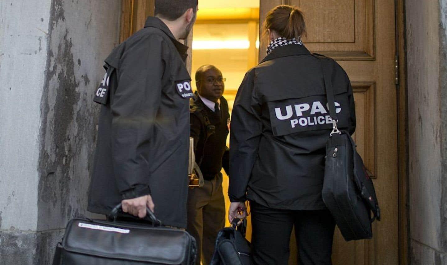 Contrats publics – L'UPAC enquête sur un système de financement occulte au PLQ