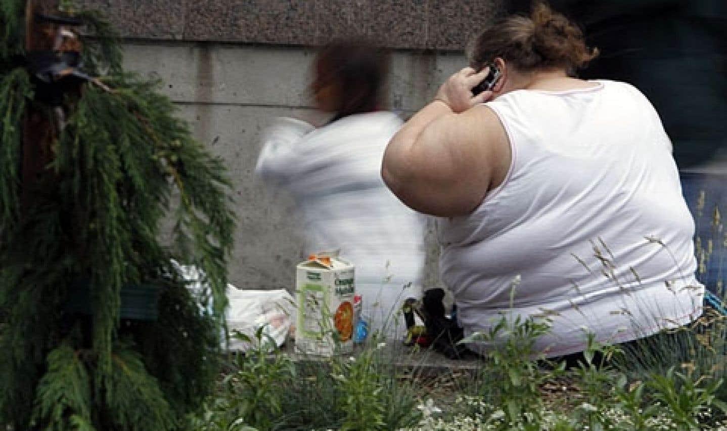 Plus d'un adulte sur trois dans le monde est obèse ou a une surcharge pondérale.