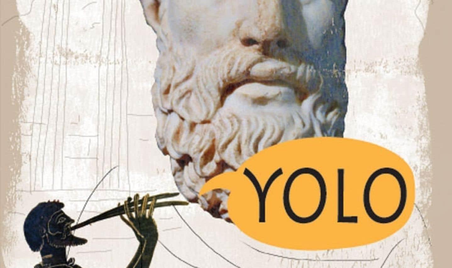 Épicure, dans une illustration de Tiffet.
