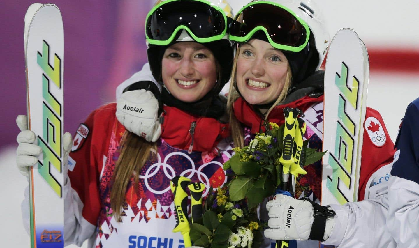 Comme à Sotchi, les soeurs Dufour-Lapointe ont raflé les première et deuxième position lors de la Coupe du monde de ski acrobatique.