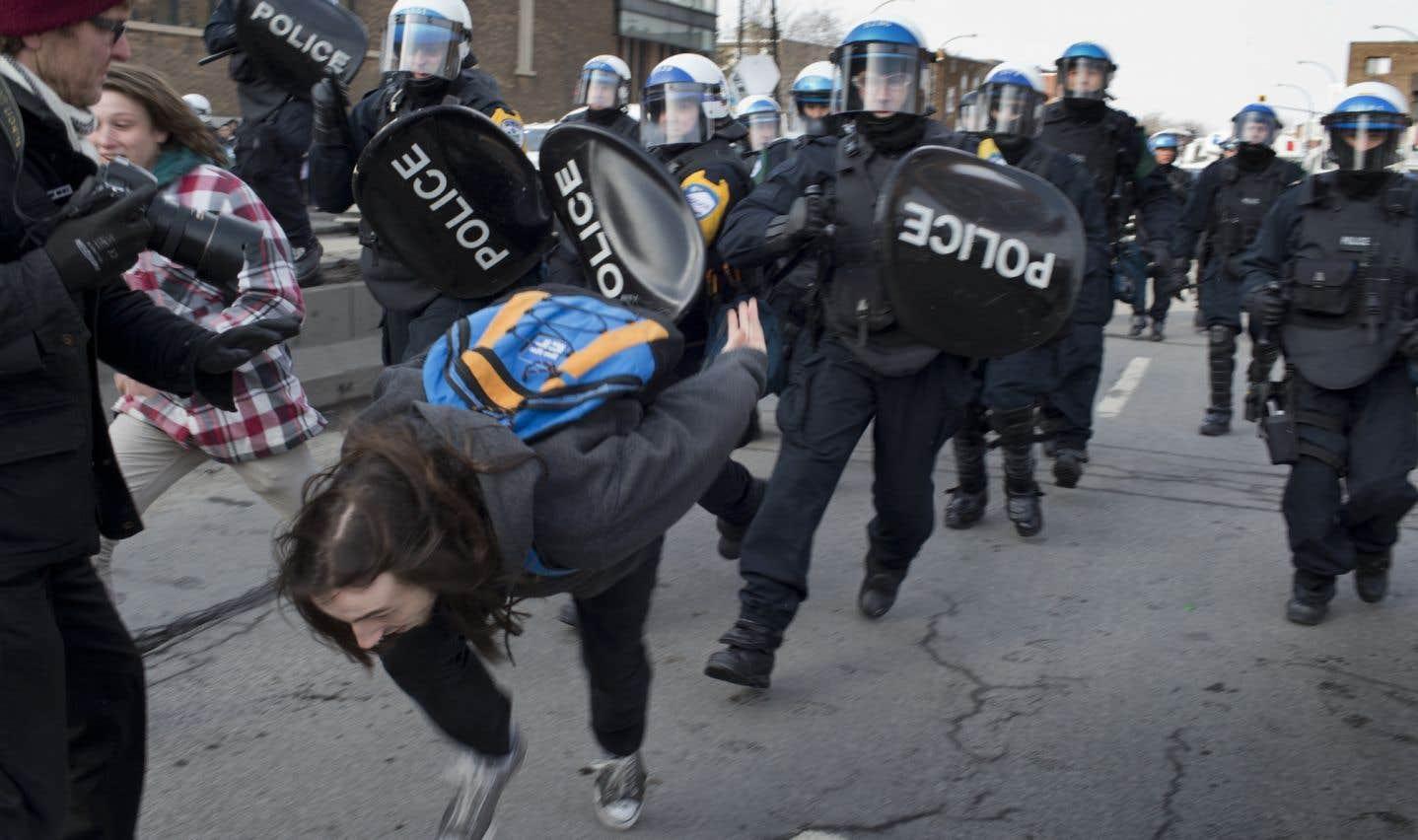 Le Collectif opposé à la brutalité policière (COBP) tient chaque année une manifestation.