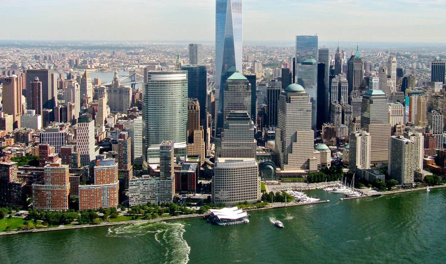 Observer New York entre ciel et terre