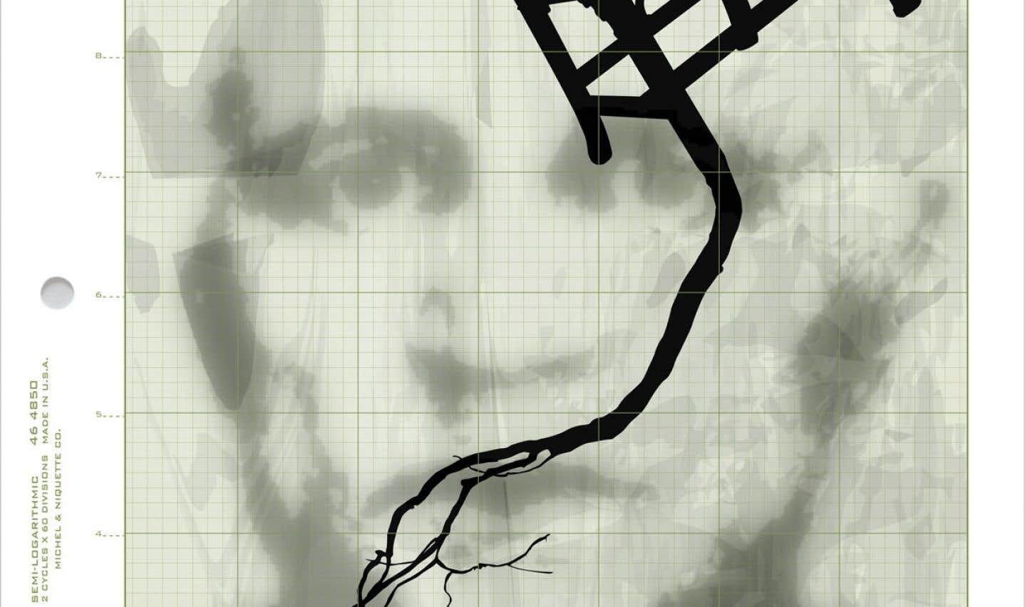 Œuvre de Michel Niquette présentée l'an dernier dans le cadre de Papier 13.