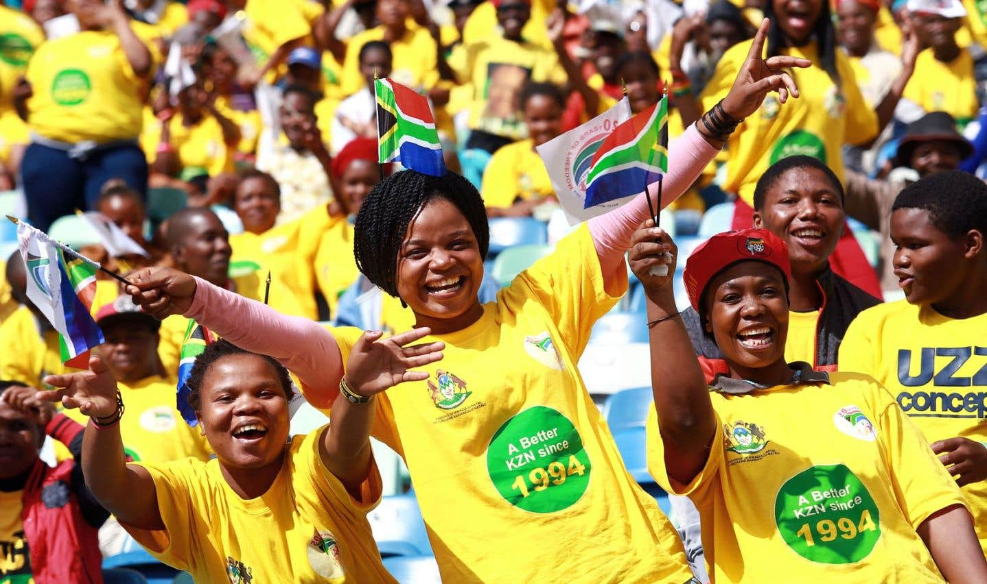 L'Afrique du Sud souligne vingt ans de démocratie