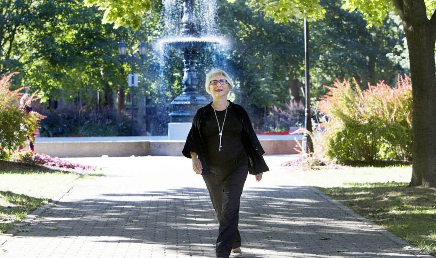 Marie-Hélène Falcon: «J'ai fait le tour du jardin quelques fois. Le festival est solide, il appartient à la communauté. Ça va! Moi, je peux faire autre chose.»