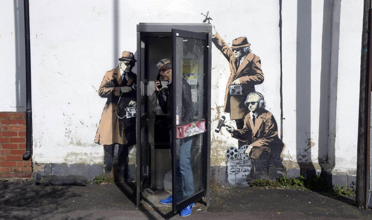 De l'art pour dénoncer la surveillance