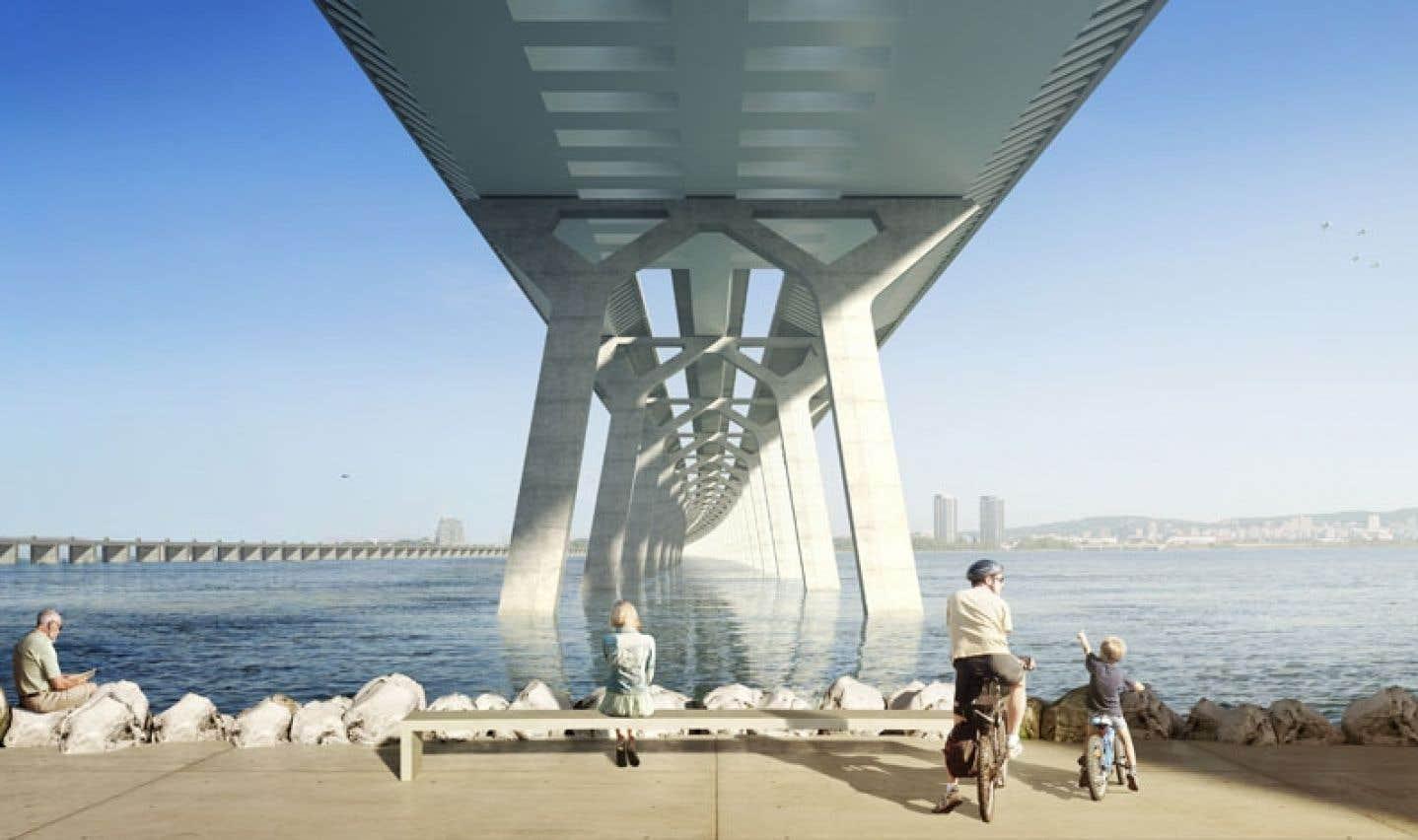 Lutte à trois pour le futur pont Champlain