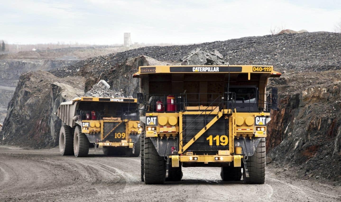 Le dossier de la Mine Arnaud est présentement en analyse environnementale au ministère du Développement durable, de l'Environnement et de la Lutte contre les changements climatiques.