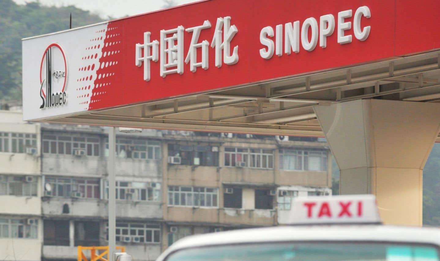 Sinopec est le premier détaillant mondial de produits pétroliers