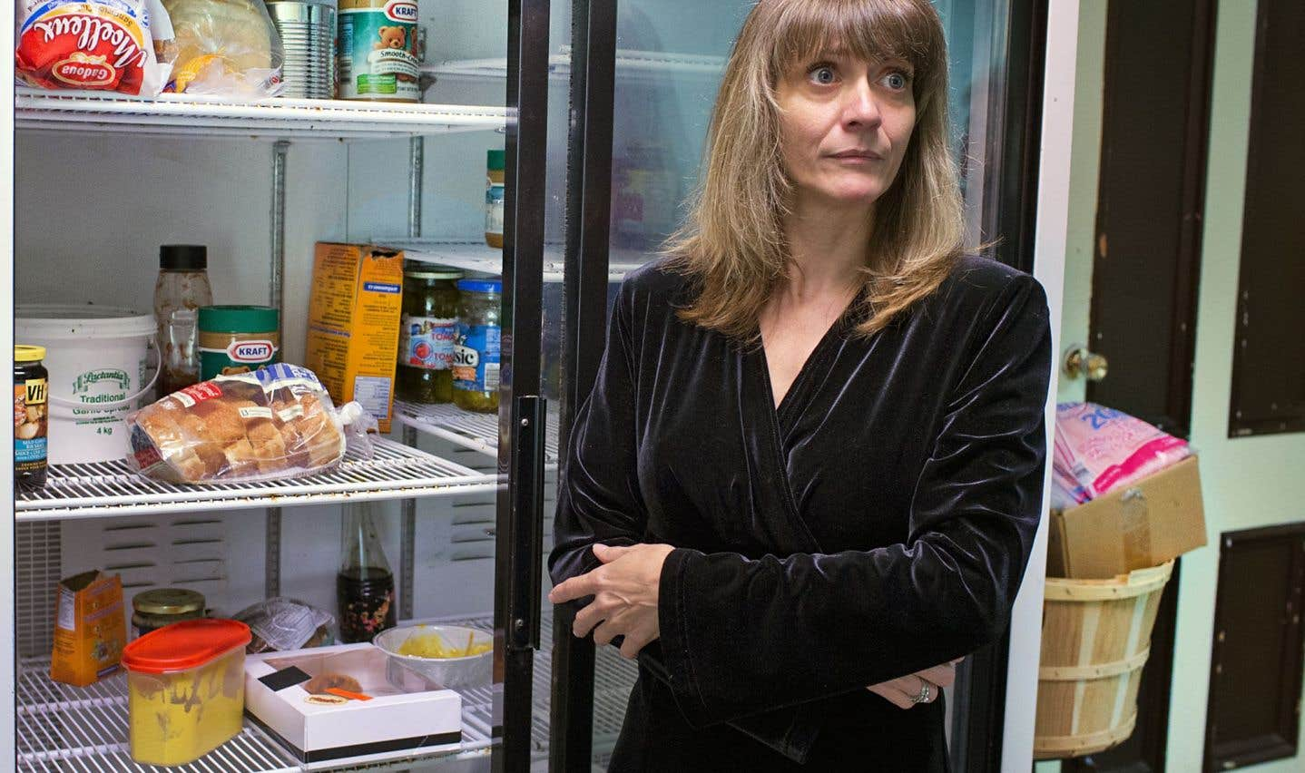 Silvie Lavigne, directrice de la Maison du partage d'Youville, cherche de nouvelles sources de financement.