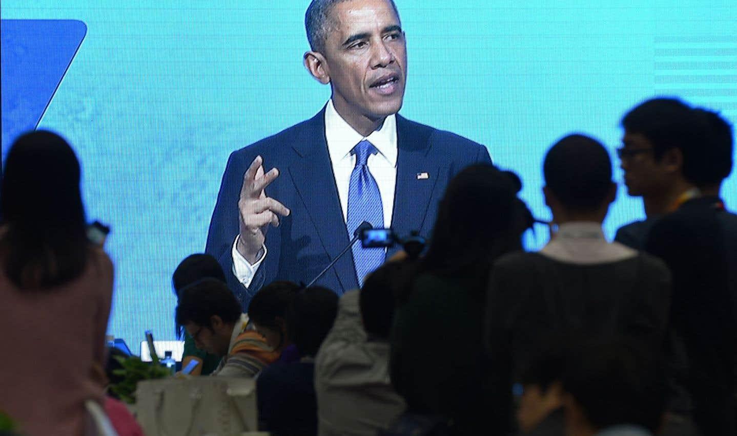 Plaidoyer d'Obama pour un Internet «libre et ouvert»