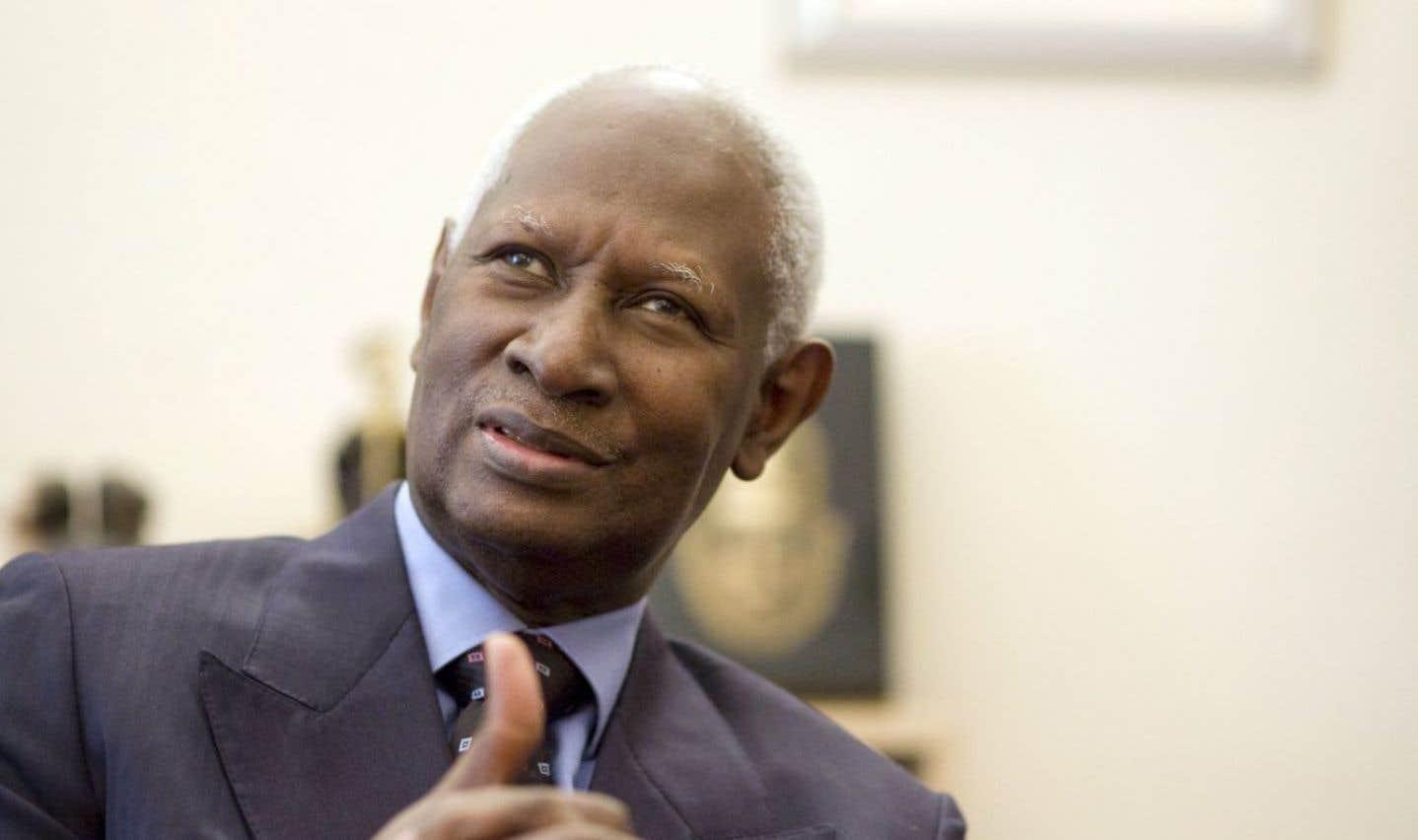 Le secrétaire général de l'Organisation internationale de la Francophonie, Abdou Diouf