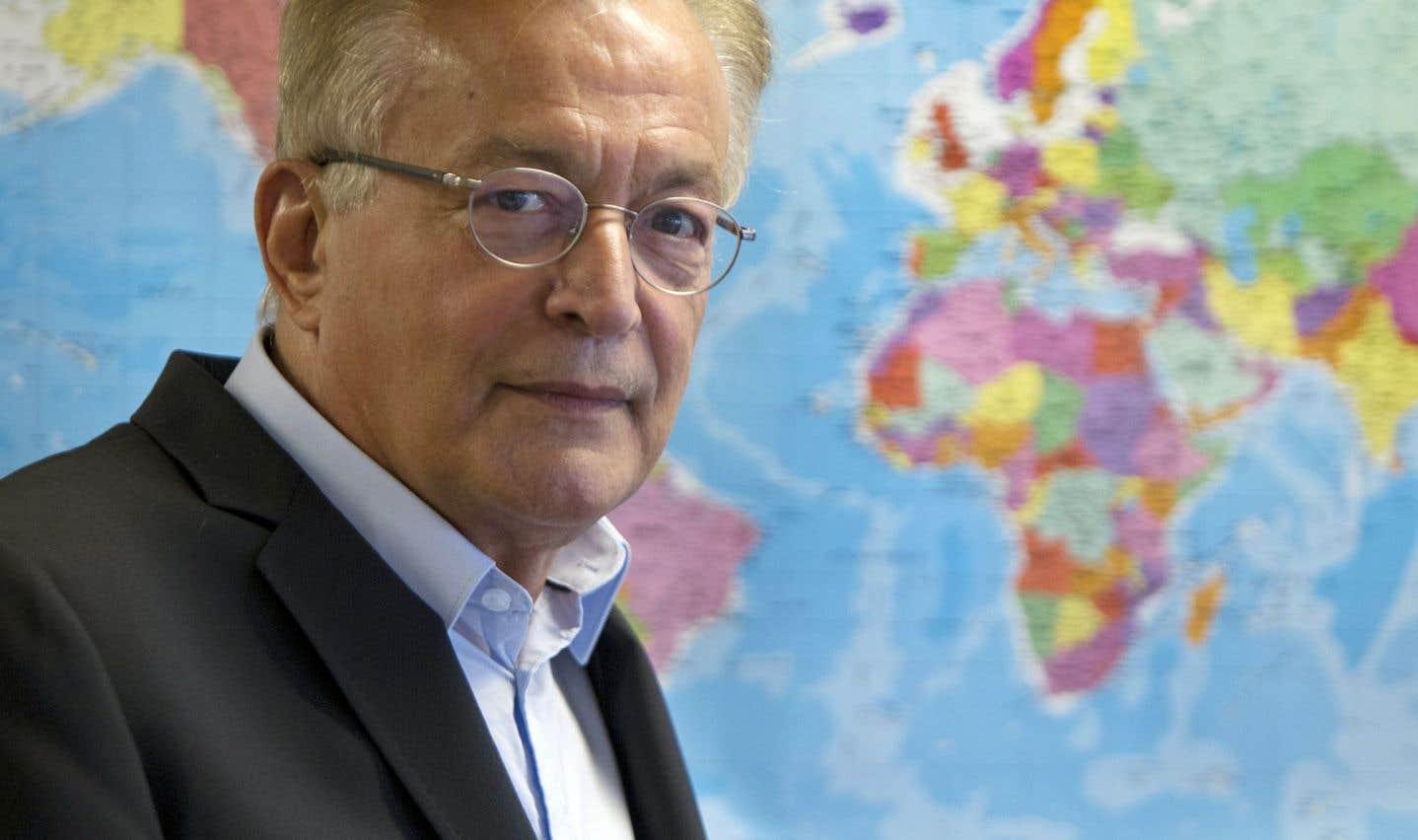 Le directeur de l'Observatoire mondial des droits de l'homme et secrétaire général de l'Agence internationale de la Francophonie de 1981 à 1986, Jean-Louis Roy