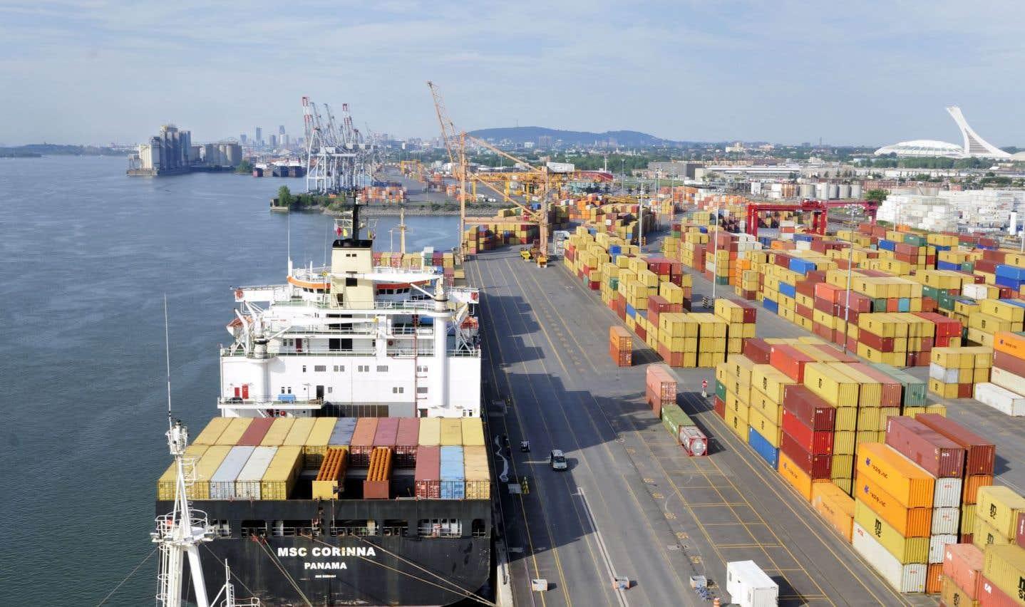 L'expansion du port de Montréal prend forme