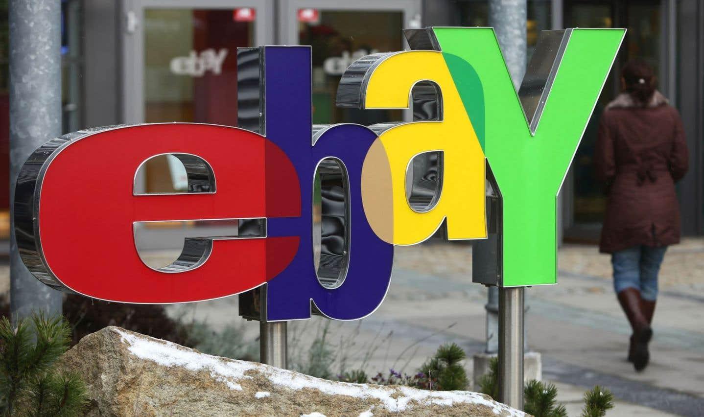 eBay veut convaincre Québec de ne pas taxer les ventes en ligne