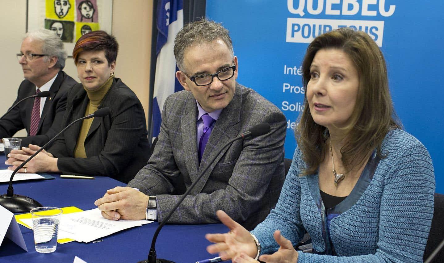 Lucie Tremblay, présidente de l'Ordre des infirmières et infirmiers du Québec