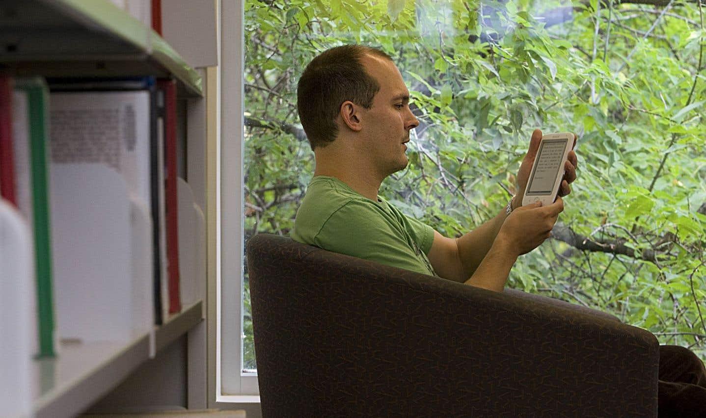 Un demi-million de livres électroniques ont été vendus au Québec en 2014