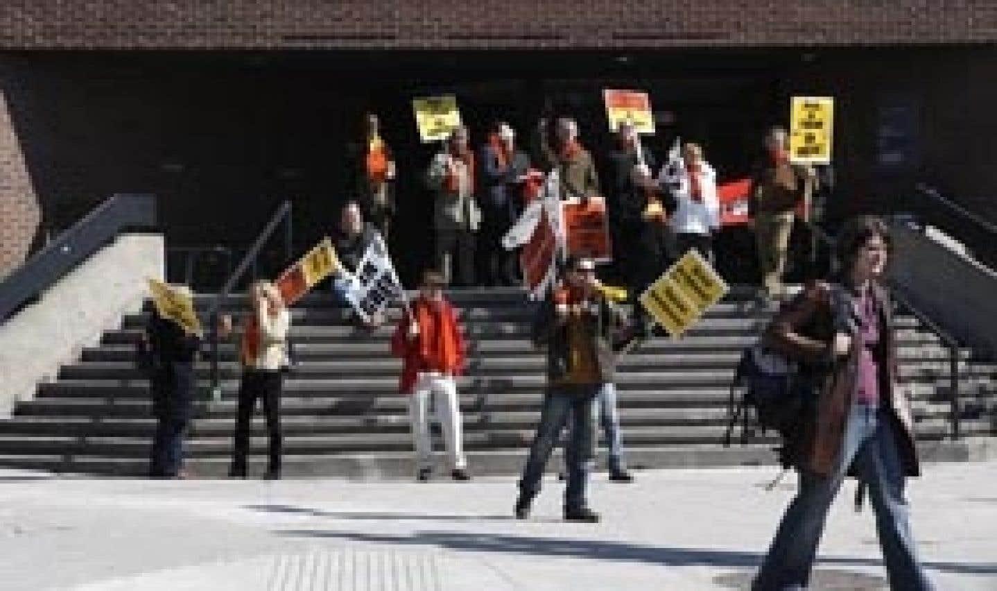 Trois étudiants sur quatre font la grève à l'UQAM