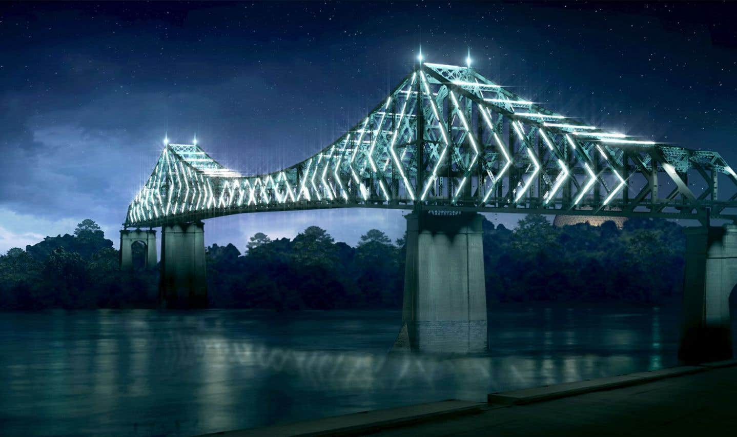 40millions pour illuminer le pont Jacques-Cartier