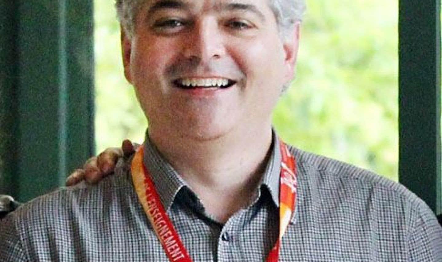 Le président de la Fédération autonome de l'enseignement (FAE), Sylvain Mallette
