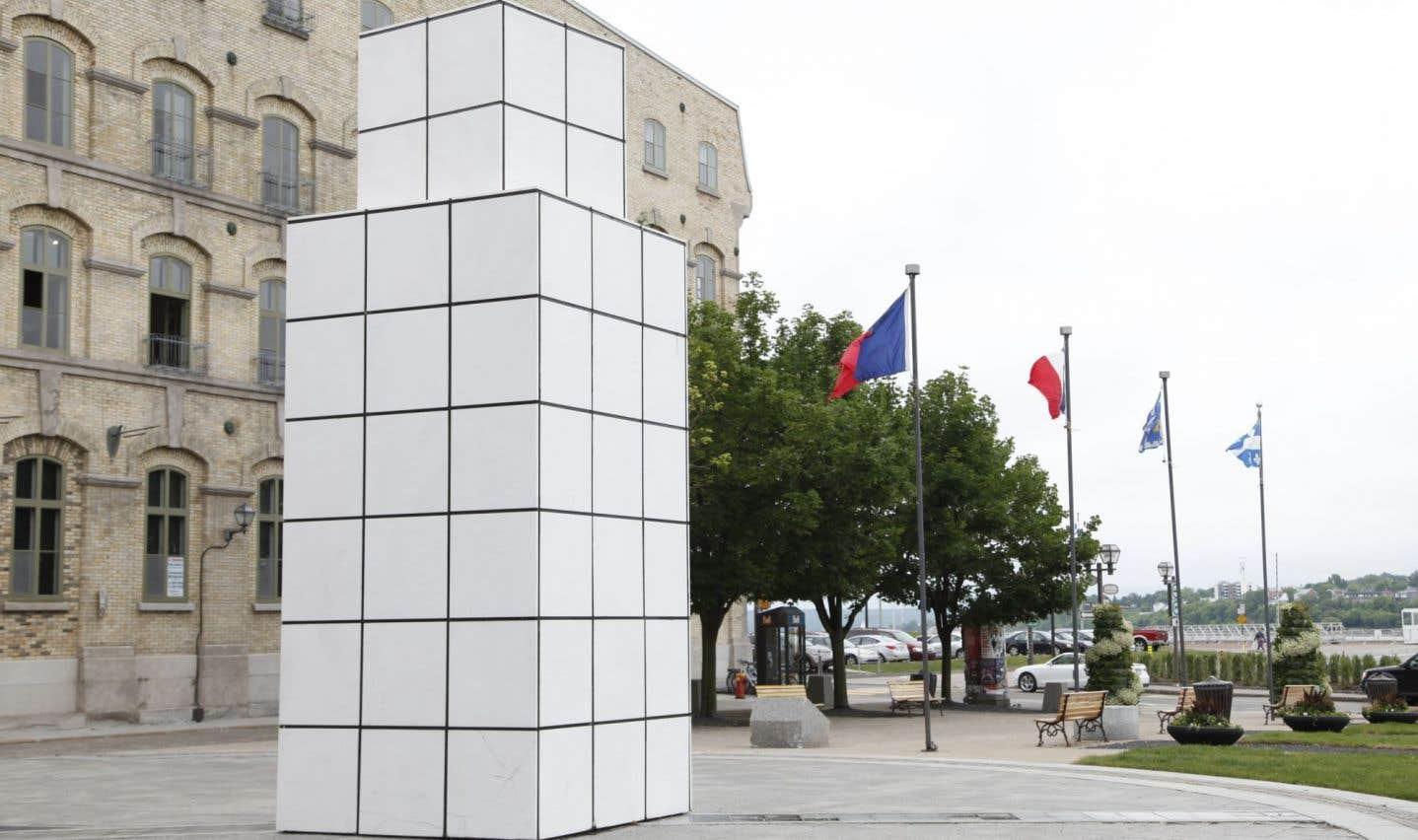 Labeaume avait promis de reconstruire «Dialogue avec l'histoire»
